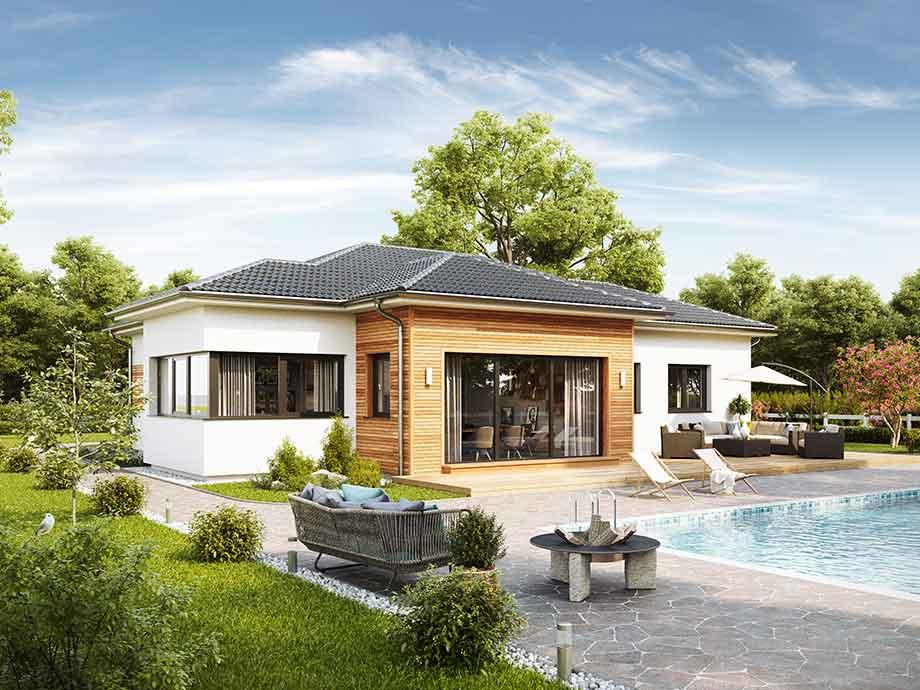 Fertighaus, Fertigteilhaus - VARIO-HAUS in Südtirol bauen
